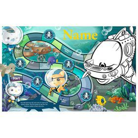 Sea Explorer Personalized Activity Mat (8 Count)