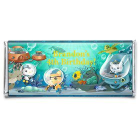 Sea Explorer Personalized Candy Bar Wrapper (Each)