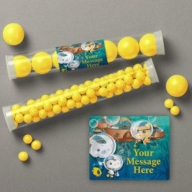 Sea Explorer Personalized Candy Tubes (12 Count)
