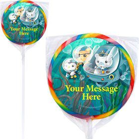 Sea Explorer Personalized Lollipops (12 Pack)