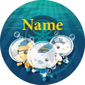 Sea Explorer Personalized Mini Stickers (Sheet of 20)