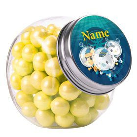 Sea Explorer Personalized Plain Glass Jars (12 Count)