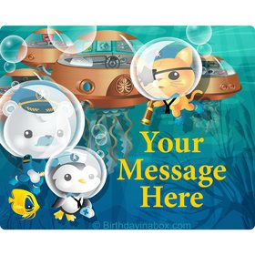 Sea Explorer Personalized Rectangular Stickers (Sheet of 15)