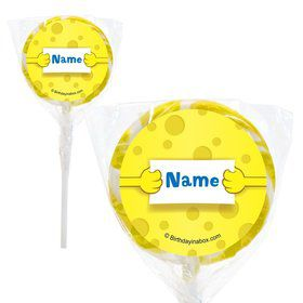 "Sea Sponge Personalized 2"" Lollipops (20 Pack)"