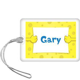 Sea Sponge Personalized Bag Tag (each)