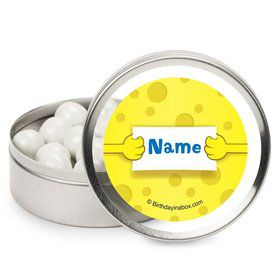 Sea Sponge Personalized Candy Tins (12 Pack)
