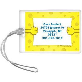 Sea Sponge Personalized Luggage Tag (each)