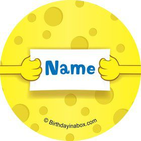 Sea Sponge Personalized Mini Stickers (Sheet of 20)