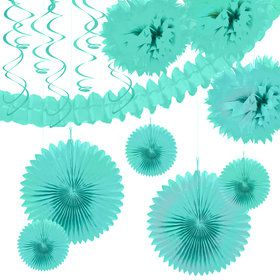 Seafoam Festive Decoration Kit