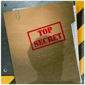 Secret Agent Lunch Napkins