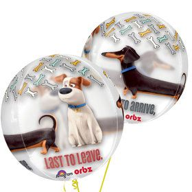 "Secret Life of Pets 16"" Orbz Balloon"