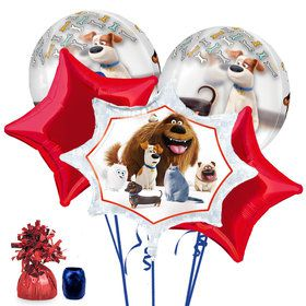 Secret Life of Pets Deluxe Balloon Bouquet Kit