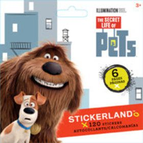 Secret Life Of Pets Mini Sticker Pad (120 Stickers)
