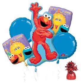 Sesame 1st Birthday Balloon Kit