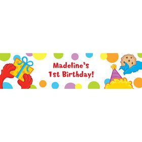 Sesame Friends Personalized Banner (each)