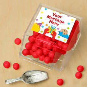 Sesame Friends Personalized Candy Bin with Candy Scoop (10 Count)