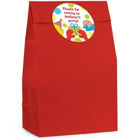 Sesame Friends Personalized Favor Bag (Set Of 12)