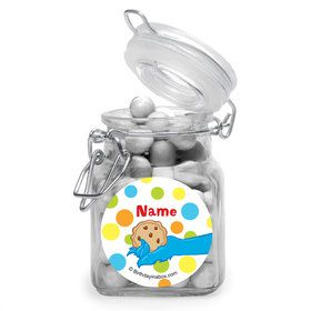 Sesame Friends Personalized Glass Apothecary Jars (10 Count)