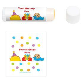 Sesame Friends Personalized Lip Balm (12 Pack)