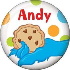 Sesame Friends Personalized Mini Button (each)