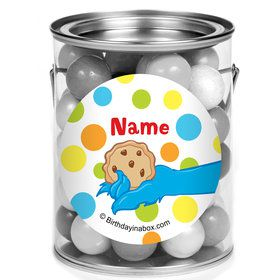 Sesame Friends Personalized Mini Paint Cans (12 Count)