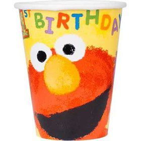 Sesame Street 1st Birthday Cups (18-pack)