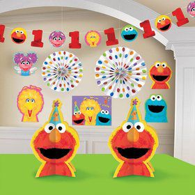 Sesame Street 1St Birthday Decorating Kit (Each)
