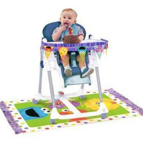Sesame Street 1st Birthday Highchair Kit (1 Set)