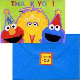 Sesame Street 1st Birthday Thank You Notes (20-pack)