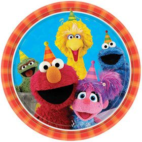 "Sesame Street 9"" Luncheon Plates (8 Count)"