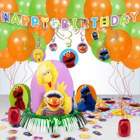 Sesame Street Birthday Decoration Kit