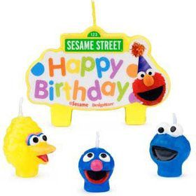 Sesame Street Candle (each)