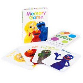 Sesame Street Card Game (4-pack)