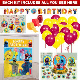Sesame Street Decoration Kit