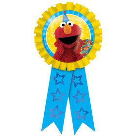 Sesame Street Elmo Award Ribbon (Each)