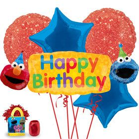 Sesame Street Elmo Balloon Bouquet Kit