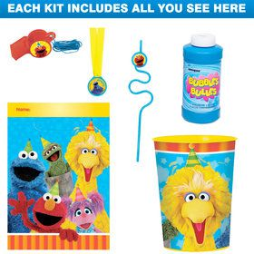 Sesame Street Favor Kit (for 1 Guest)
