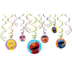 Sesame Street Hanging Decorations
