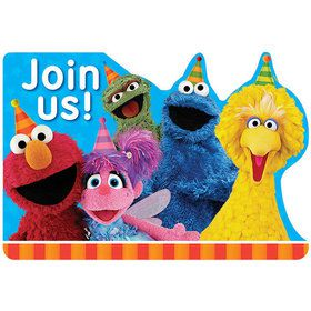 Sesame Street Invitations (8 Count)