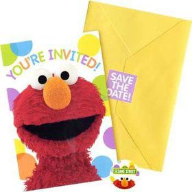 Sesame Street Invitations (8-pack)