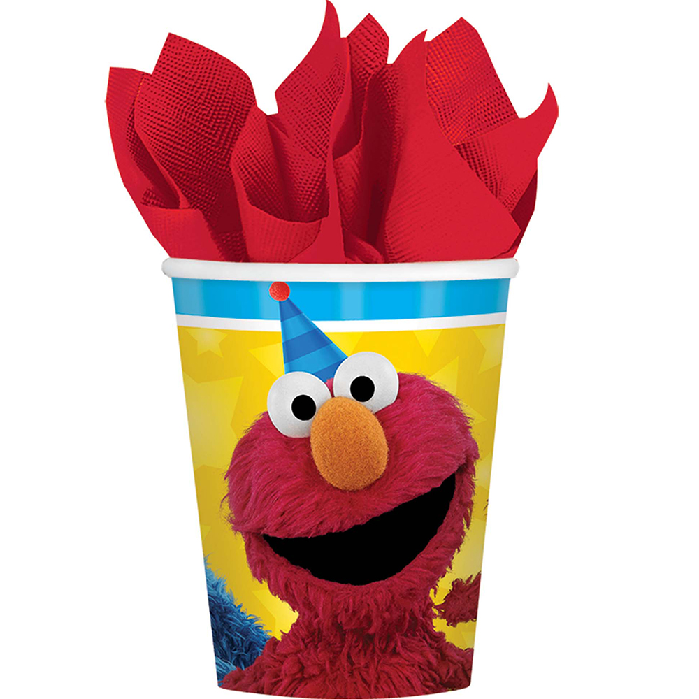 Sesame Street Paper 9Oz Cups (8 Count) BB581672