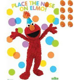 Sesame Street Party Game (each)