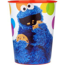 Sesame Street Plastic Party Cup (each)