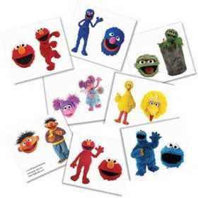 Sesame Street Tattoos (each)