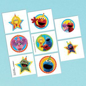 Sesame Street Tattoos