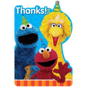 Sesame Street Thank You Notes (8 Count)