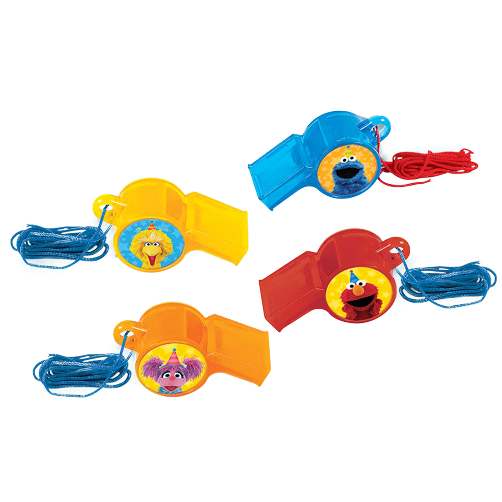 Sesame Street Whistle Favors (12 Count) BB397943