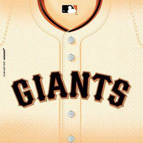 Sf Giants Luncheon Napkins (36 Pack)
