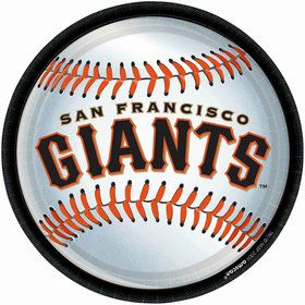 "Sf Giants Plates, 9"" (18 Pack)"