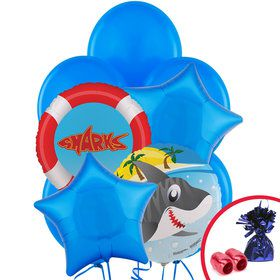 Shark Party Balloon Kit
